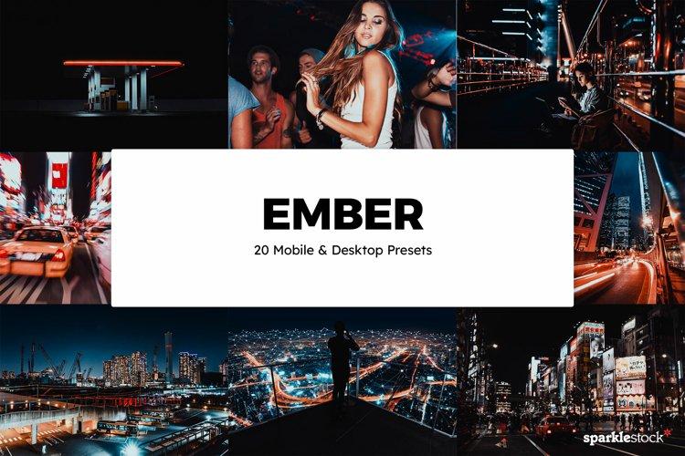 20 Ember Lightroom Presets & LUTs example image 1