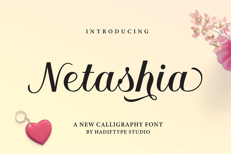 Netashia Script example image 1