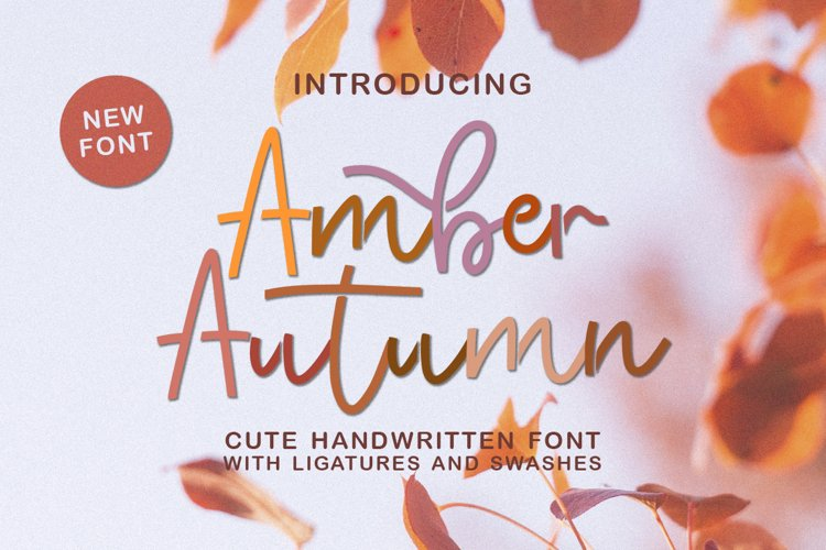 Amber Autumn example image 1