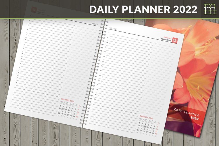 Daily Planner 2022