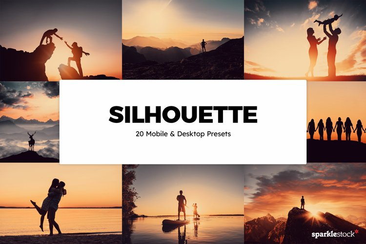 20 Silhouette Lightroom Presets & LUTs example image 1