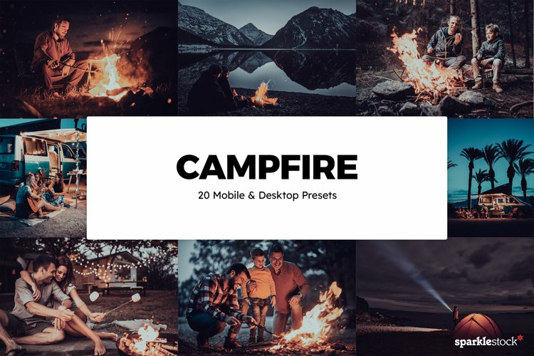 20 Campfire Lightroom Presets & LUTs example image 1