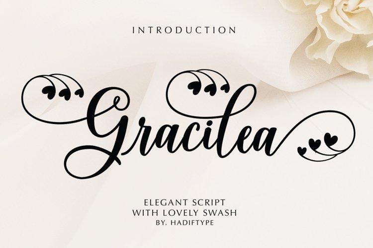 Gracilea Script example image 1