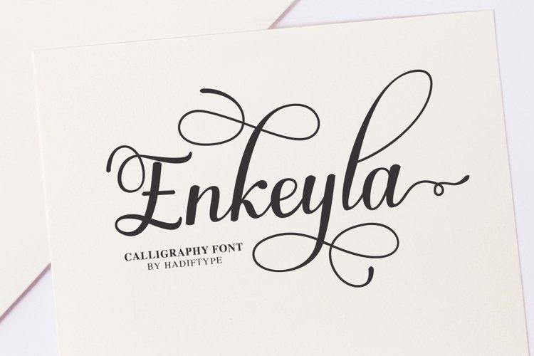 Enkeyla Script example image 1