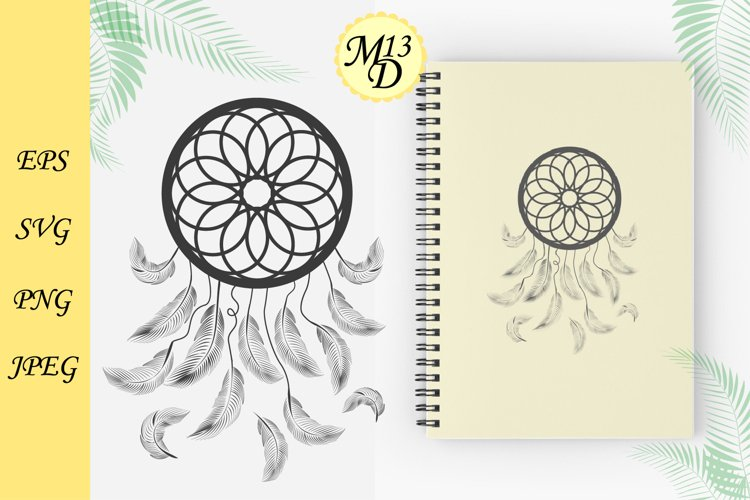 Mystical and magical design with dream Catcher
