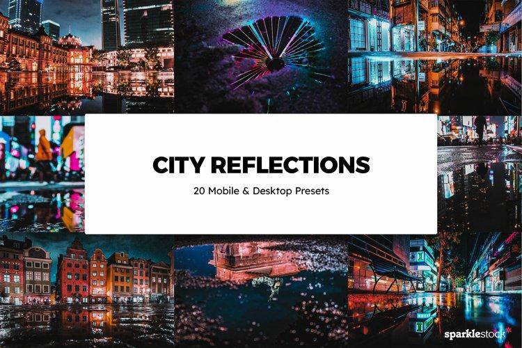 20 City Reflections Lightroom Presets & LUTs