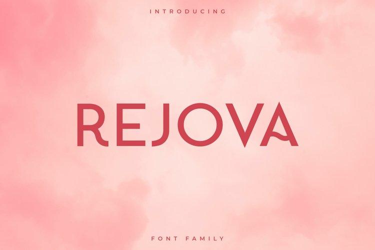 Rejova Font Family - Sans Serif example image 1