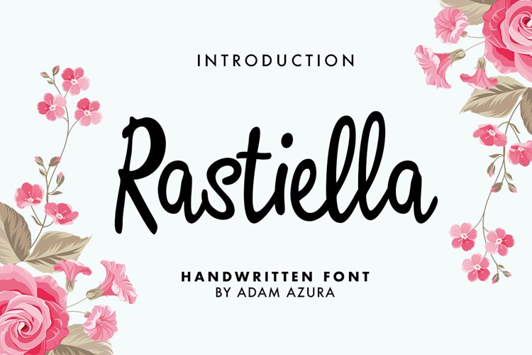 Rastiella Script example image 1