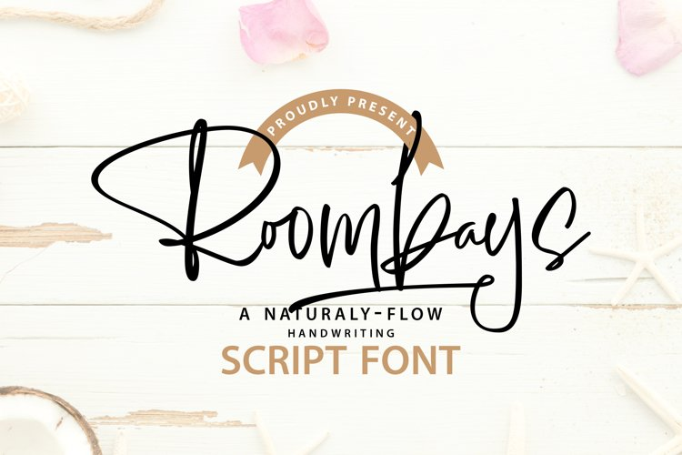 Roombays - Narutaly Flow Handwriting Script Font