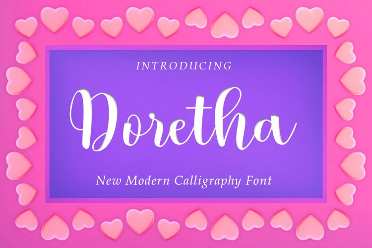 Doretha Script example image 1