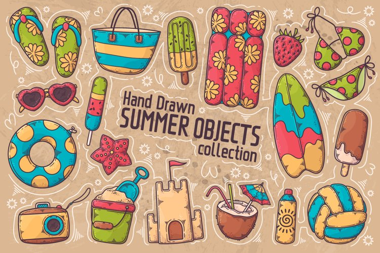 Summer Objects Collection