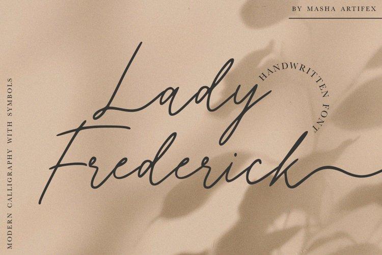 Lady Frederick example image 1