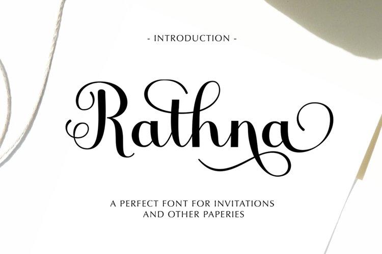 Rathna Script example image 1