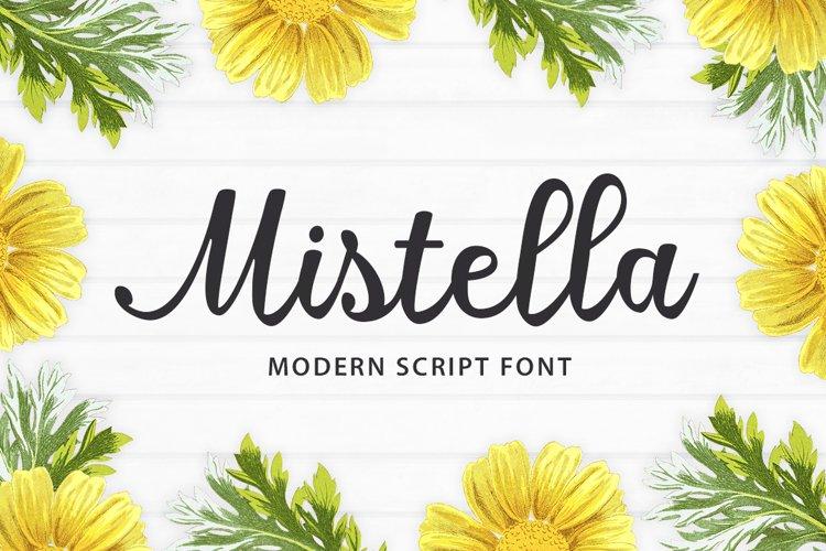 Mistella Script example image 1