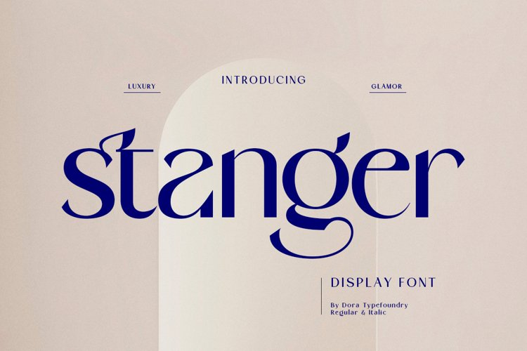 Stanger - Display Font