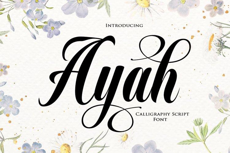 Ayah example image 1