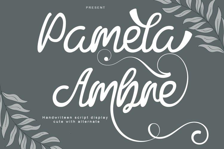 Pamela Ambre example image 1