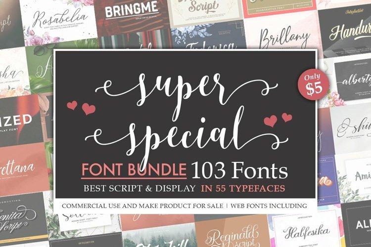 Super Special Font Bundle