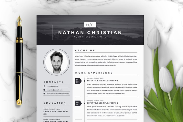 Modern & Creative Resume/CV Template