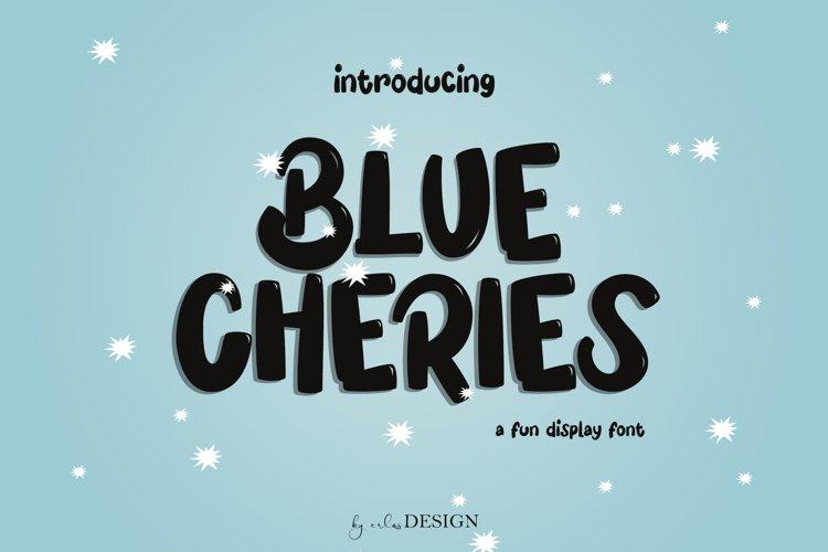 Blue Cheries