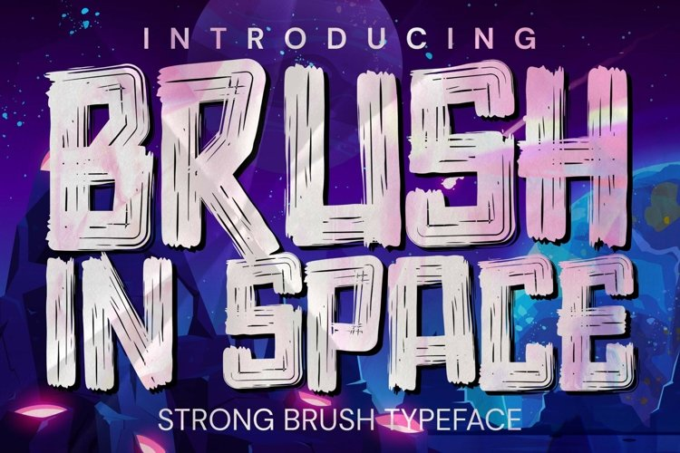 Brush In Space example image 1