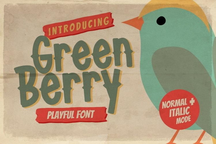 Green Berry example image 1
