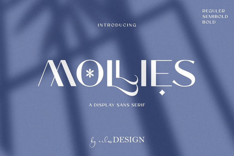 MOLLIES SANS SERIF example image 1