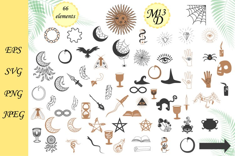 66 Magic symbols of the witch