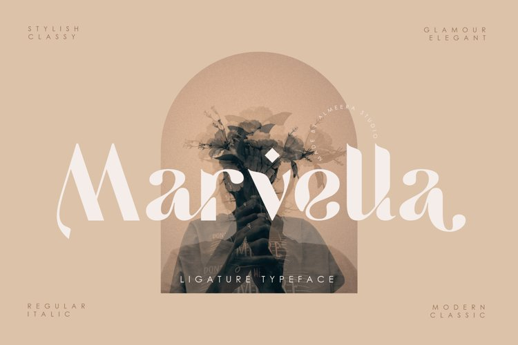 Marvella | Ligature Typeface example image 1