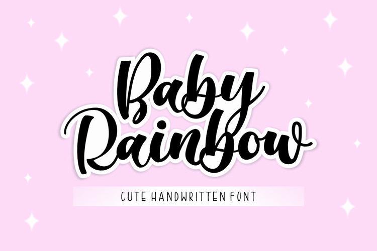 Baby Rainbow example image 1