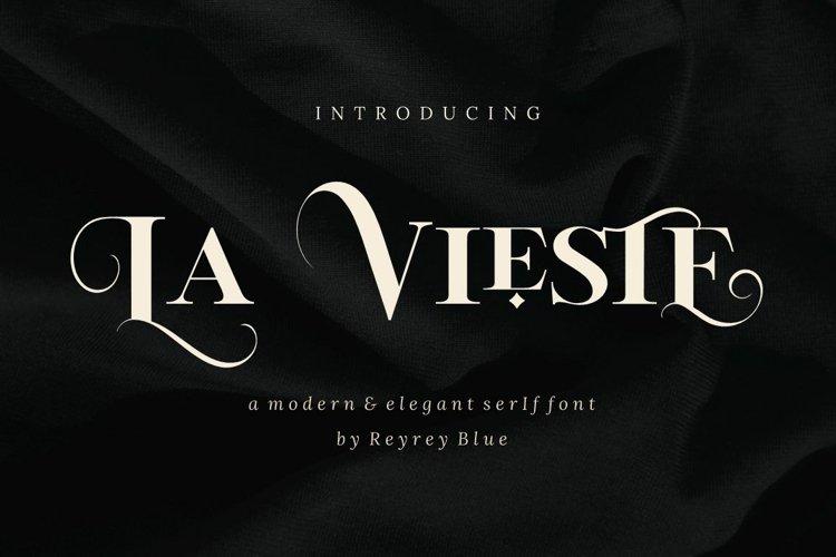 La Vieste - Elegante Serif example image 1