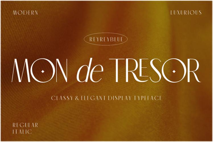 Mon de Tresor - Elegant San Serif example image 1