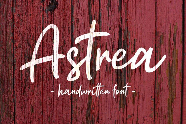 Astrea - Handwritten Font example image 1