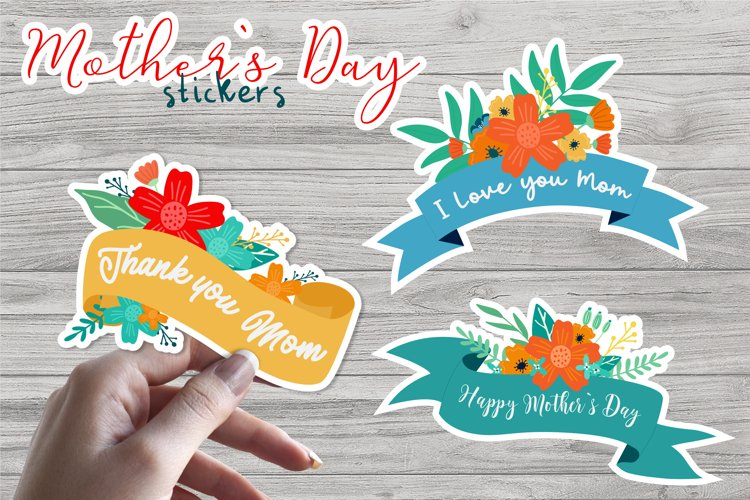 Mothers Day - Printable Stickers