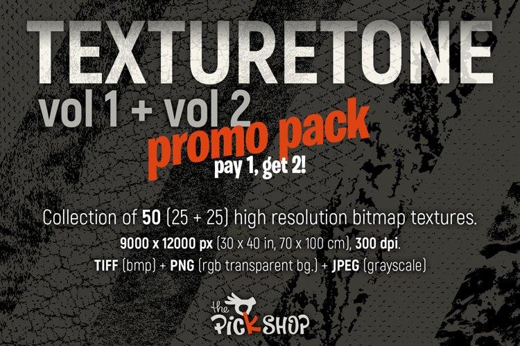 Texturetone Promo Pack. Vol 01 and Vol 02