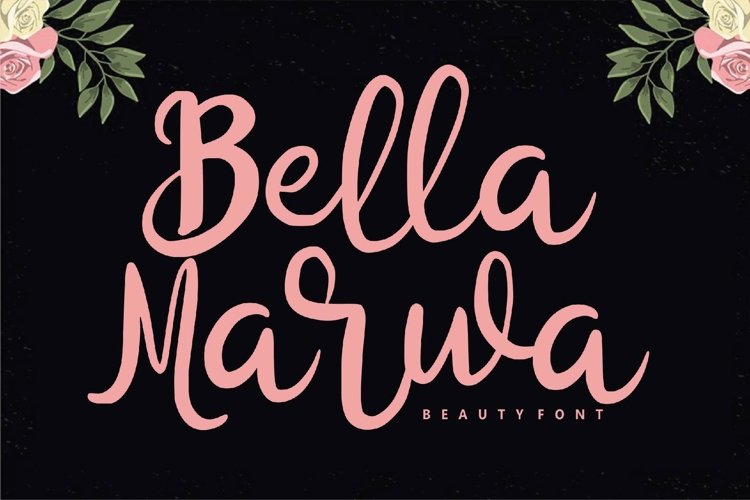 Bella Marwa - Beauty Font example image 1