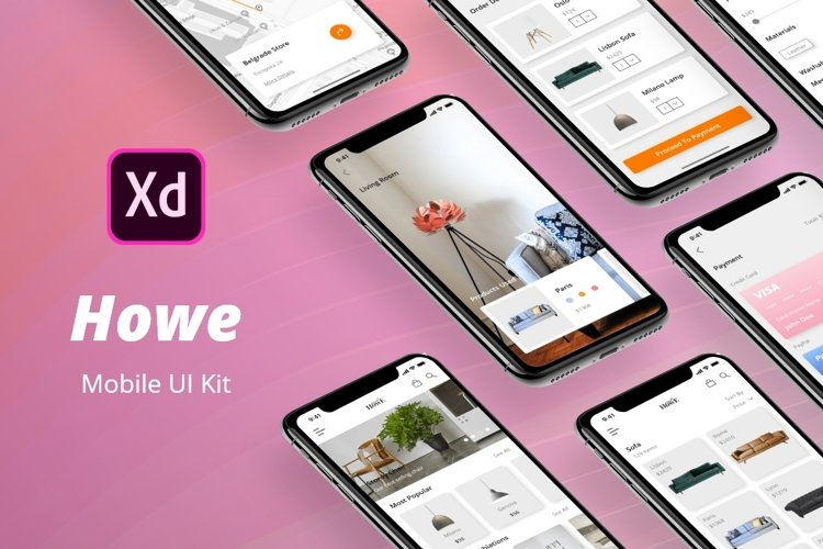 Howe Mobile UI Kit