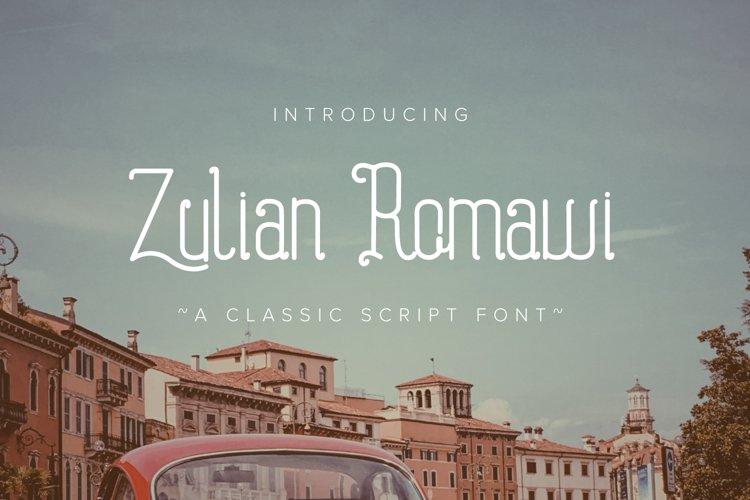 Zulyan Romawi