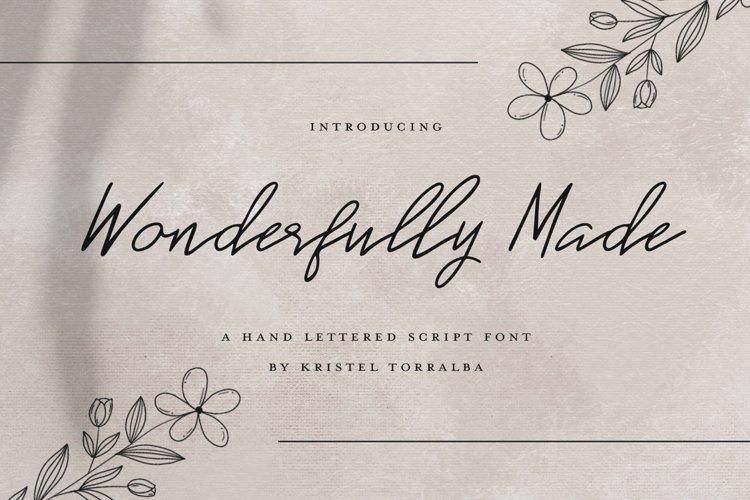 Wonderfully Made