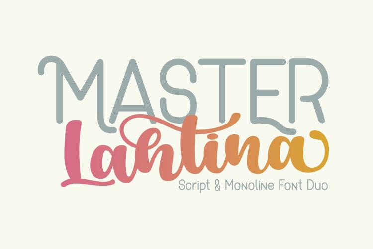 Master Lahtina - Font Duo