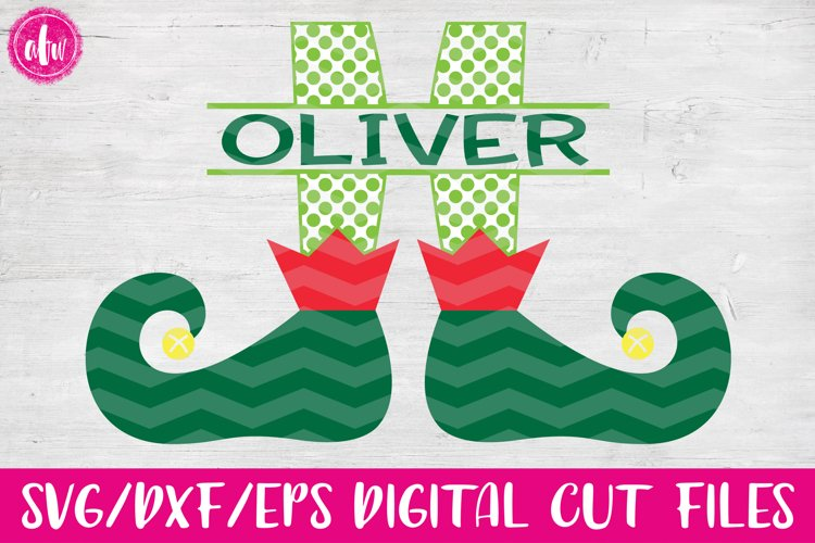 Split Elf Legs - SVG, DXF, EPS Cut Files example image 1