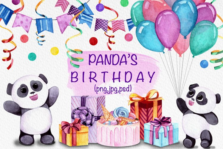 Panda's birthday example image 1