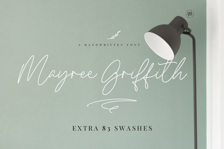 Mayree Griffith - A Handwritten Font example image 1