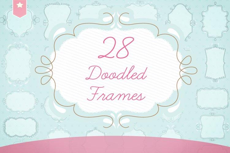 doodled frames pack