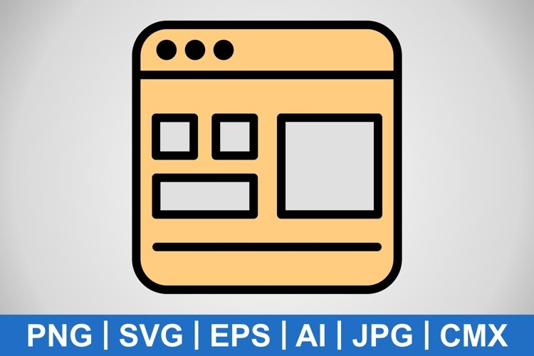 Vector Template Icon example image 1