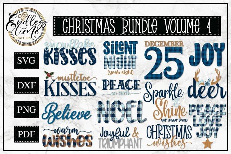 Christmas Bundle Volume 4 - A Merry Christmas SVG Bundle