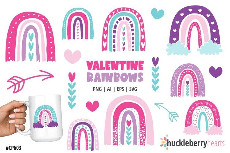 Valentine Rainbows