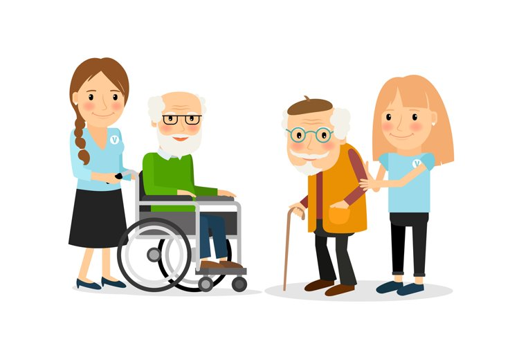 Caring for seniors example image 1