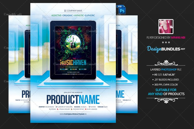 Product Showcase Vs 1 Flyer