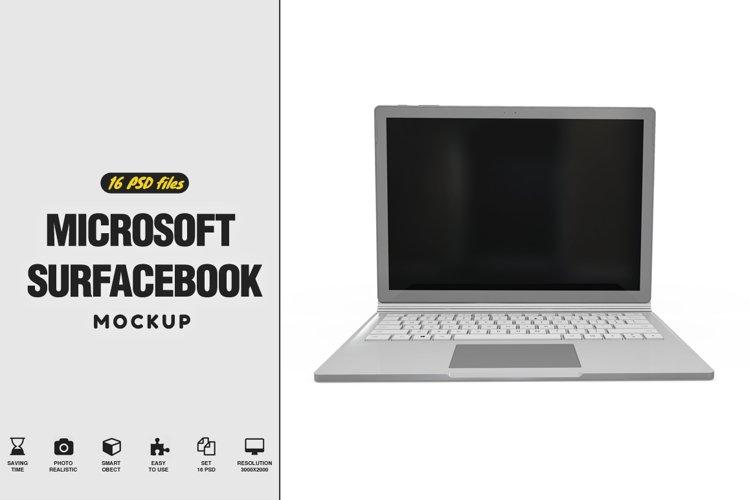 Microsoft SurfaceBook Mockup example image 1